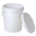 PAIL PLASTIC 20L WITH LID