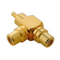 ADAPTER PREMIUM RCA SPLITTER