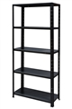 SHELF UNIT 5 TIER BLACK 60KG