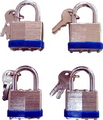 PADLOCK LAMINATED HD 40MM 4PCE SET