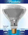 GLOBE SINGLE GLASS PAR38 ES 80W