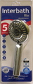 HANDSHOWER CHROME 85MM 5FN RIO
