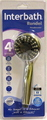 HANDSHOWER CHROME 85MM 5FN RONDEL