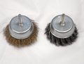 BRUSH SET 75MM TWISTED AND CRIMPED CUT