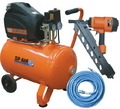 COMPRESSOR & FRAMING GUN KIT TRADESMEN 2HP