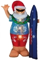 INFLATABLE LV SURFING SANTA 2M