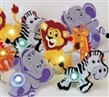 LIGHT LED STRING AFRICAN ANIMALS