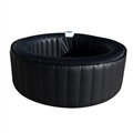 SPA INFLATABLE BLACK 4 PERSON NOBAL