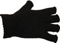 GLOVES FINGERLESS BLACK S/M