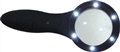 MAGNIFYING GLASS WITH 6 LED MEDALIST