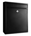 LETTERBOX BLACK WALL MOUNT BOLOGNE