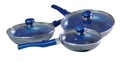COOKWARE SET 6P DETATCH HANDLE F/STONE