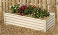GARDEN BED RAISED 900X550X400MM P/BAR