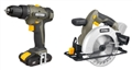 COMBO 2PCE DRILL & CIRC SAW 18V ROCKWELL