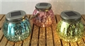 LIGHT SOLAR GLASS JAR GLIMMER ASSORTED