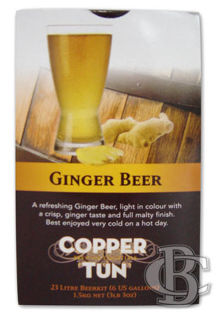 Copper Tun GINGER BEER