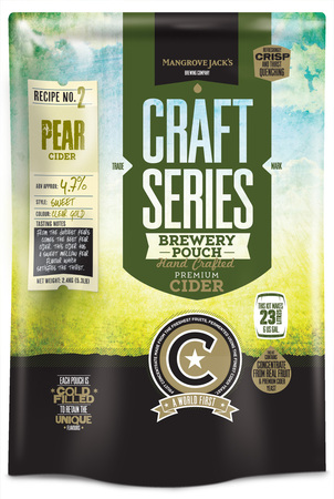 Mangrove Jacks Craft Pear Cider Pouch