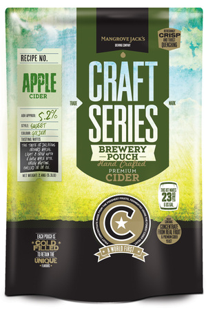 Mangrove Jacks Craft Apple Cider Pouch