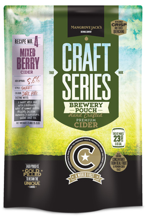 Mangrove Jacks Craft Mixed Berry Cider Pouch