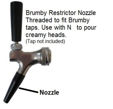 Brumby Tap Restrictor Nozzle