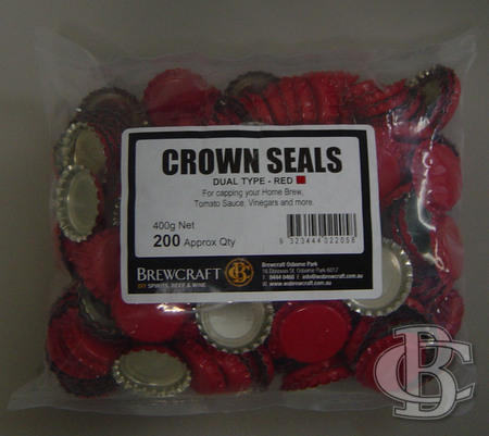 DUAL SEALS - RED (PKT 200)