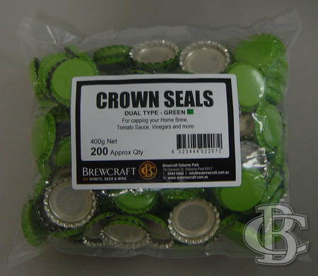 DUAL SEALS - GREEN (PKT 200)