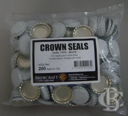 DUAL SEALS - WHITE (PKT 200)