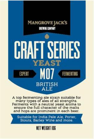 Yeast British Ale M07