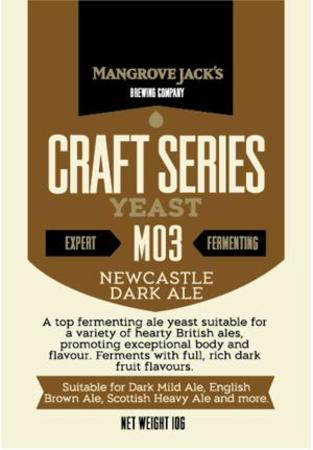 Yeast Newcastle Dark M03