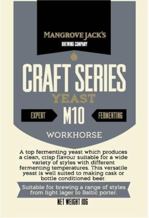 Yeast Workhorse Beer M10