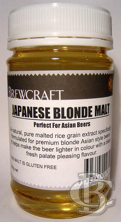 JAPANESE BLONDE MALT 500gms