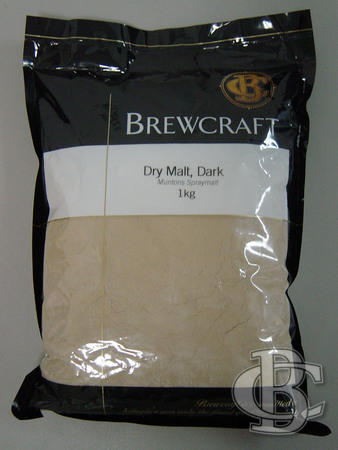 Malt BAND DRIED DARK - 1kg