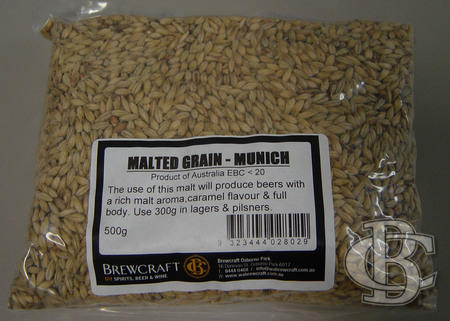 MUNICH MALT GRAIN  - 500g
