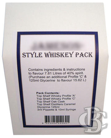 JAMES STYLE WHISKY PACK