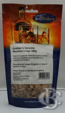 NOTE: NON AUTHENTIC - GOBBLERS BOURBON CHIPS