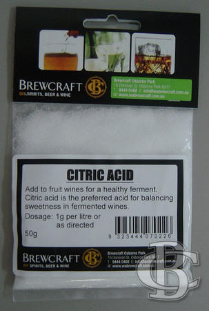 CITRIC ACID 50g