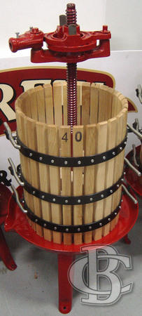 GRAPE PRESS GPO40 40X55CM 60L