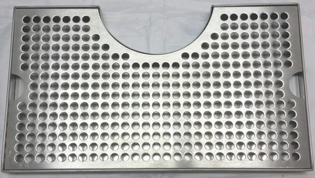 Stainless Steel Drip Tray Cutout