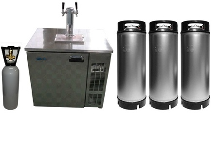 KEGERATOR FRENZY ND-40 Double Font Combo