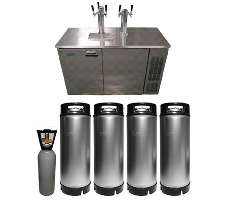 KEGERATOR FRENZY ND-80 Double Font Combo