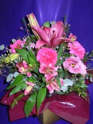 Posy Box Arrangement