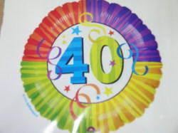Birthday Balloon with AGE