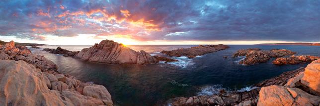 Canal Rocks Sunset