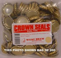 Crown Seal DUO - Packet of 500