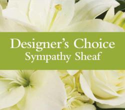 Designer's Choice Sympathy Sheaf