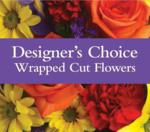 Designer's Choice Wrapped Cut Flowers