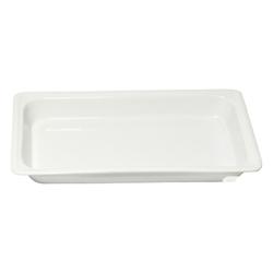 1/1 Size - Depth 65mm, 325 x 525mm - White Porcelain (Prev. 6681)