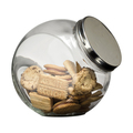 Glass Cookie Jar 2.2 Litre, Screw Top Lid, 90mm Opening