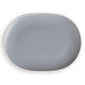 Oval Coupe Plate Blue 250 x 195mm - 12 Per Box (Prev. 6399)