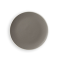 Round Coupe Plate Grey 180mm - 12 Per Box (Prev. 6385)